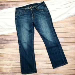 LUCKY BRANS STRAIGHT BUTTON FLY JEANS SIZE 36 R